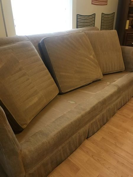 Upholstery cleaning in Concord, NC by GHC Building Maintenance, LLC