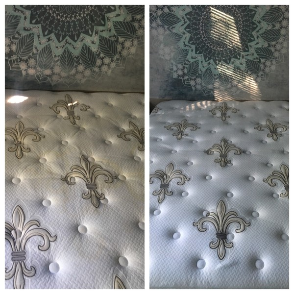 Before & After Mattress Cleaning in Charlotte, NC (1)