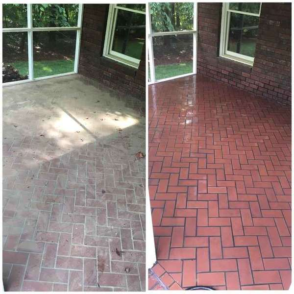 Before & After Tile Cleaning in Charlotte, NC (1)