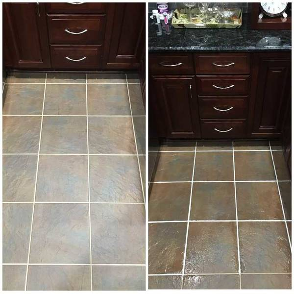 Before & After Tile & Grout Cleaning in Charlotte, NC (1)