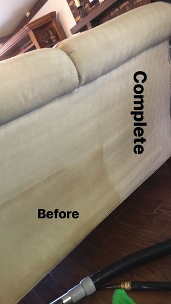Before & After Upholstery Cleaning in Charlotte, NC (1)